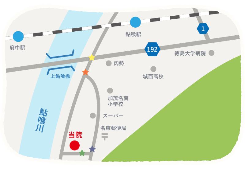 周辺地図イラスト